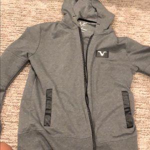 Versace size medium zip up